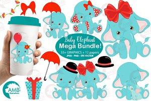 Elephant baby bundle,  AMB-2273
