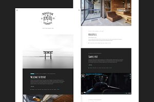 Kyoto Clean & Smart WordPress Theme