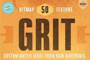 50 Fine Grit Bitmap Textures