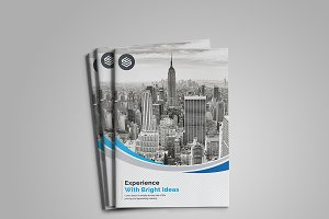 Clean Bi-Fold Brochure