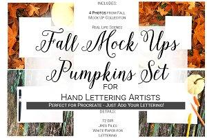 Fall Mock Ups | Pumpkin Set