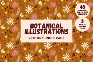 Botanical Vector pack