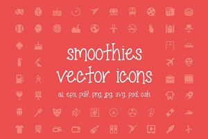 350+ Smoothies Vector Icons