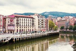 Sunset at Ria de Bilbao