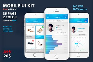 UI Mobile and Creative UX