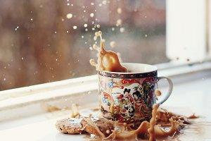 Cookie splash