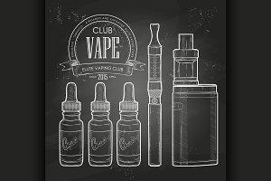 Vector vaporizer cigarette