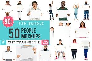 The Best People Mockup Bundle
