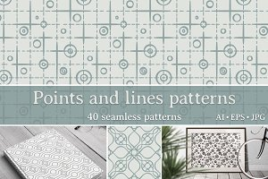 Points and lines patterns