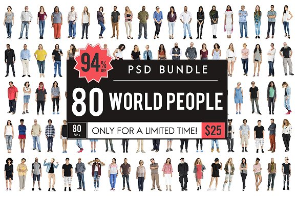 The Best People PSD Bundle