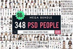 The Best People PSD Mega Bundle