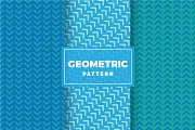 Geometric Vector Patterns #216