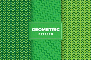 Geometric Vector Patterns #214