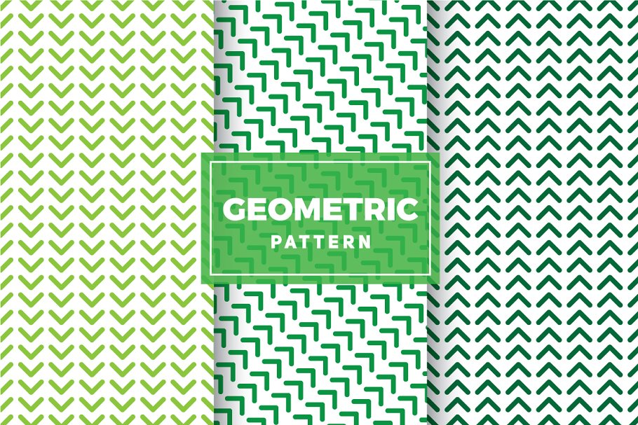Geometric Vector Patterns #213 in Patterns - product preview 8