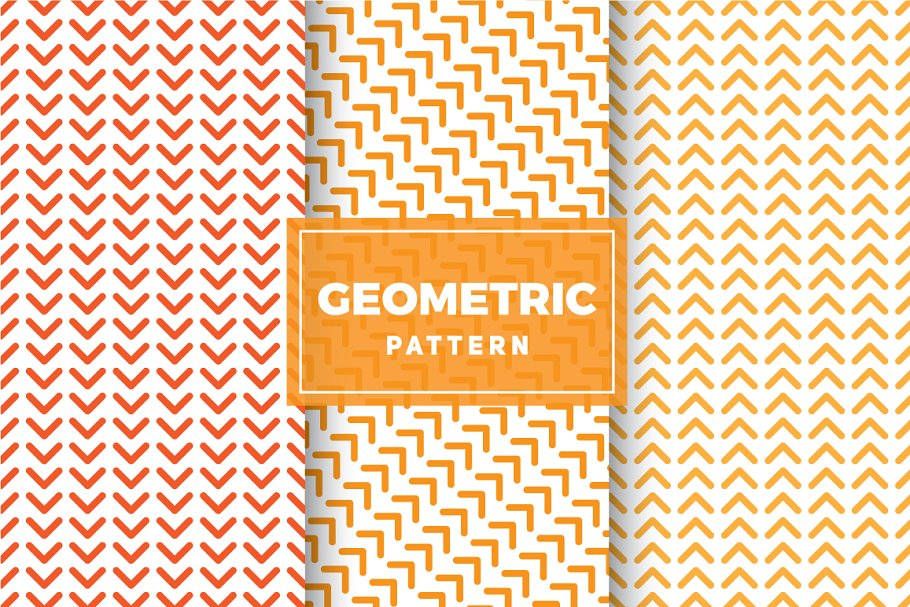 Geometric Vector Patterns #211 in Patterns - product preview 8