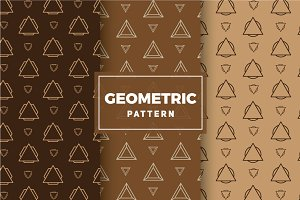 Geometric Vector Patterns #210