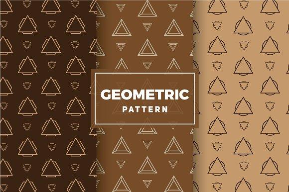 Geometric Vector Patterns #210