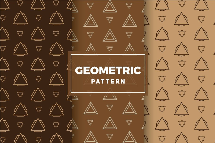 Geometric Vector Patterns #210 in Patterns - product preview 8