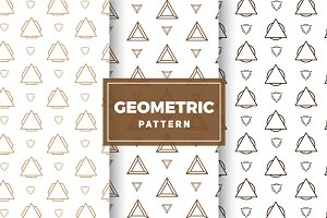 Geometric Vector Patterns #209