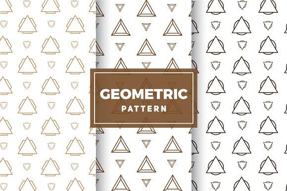 Geometric Vector Patterns #209