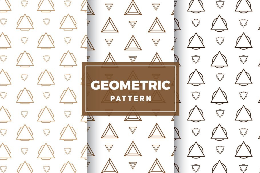 Geometric Vector Patterns #209 in Patterns - product preview 8