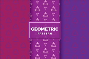 Geometric Vector Patterns #208