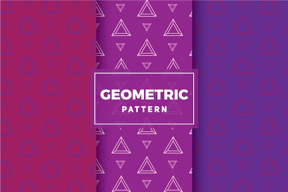 Geometric Vector Patterns #208 in Patterns