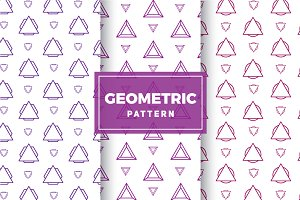 Geometric Vector Patterns #207