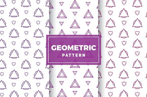 Geometric Vector Patterns #207