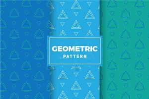 Geometric Vector Patterns #206