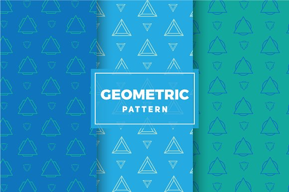 Geometric Vector Patterns #206 in Patterns