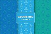 Geometric Vector Patterns #206