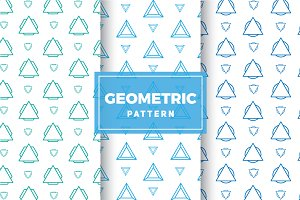 Geometric Vector Patterns #205
