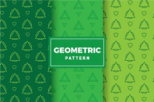 Geometric Vector Patterns #204