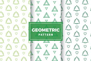 Geometric Vector Patterns #203