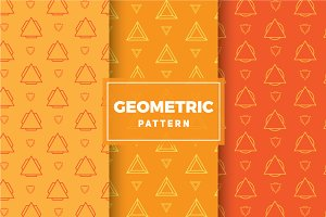 Geometric Vector Patterns #202
