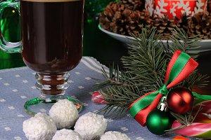 Sweets with coffee mug