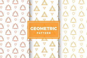 Geometric Vector Patterns #201
