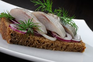 Appetizer of herring