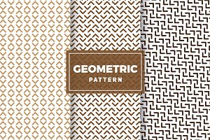 Geometric Vector Patterns #249
