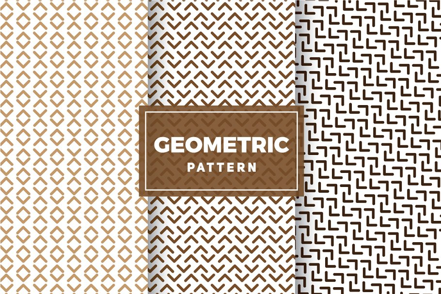Geometric Vector Patterns #249 in Patterns - product preview 8