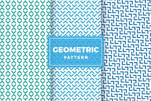 Geometric Vector Patterns #245