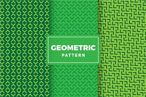 Geometric Vector Patterns #244