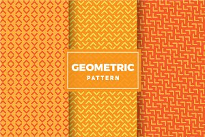 Geometric Vector Patterns #242