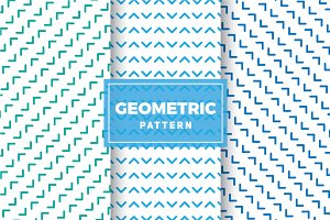Geometric Vector Patterns #235