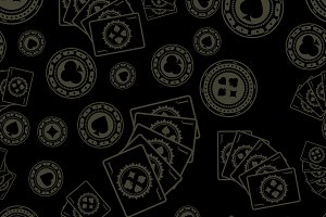 Dark poker pattern