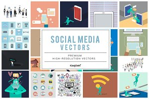 The Best Social Media Vector Bundle