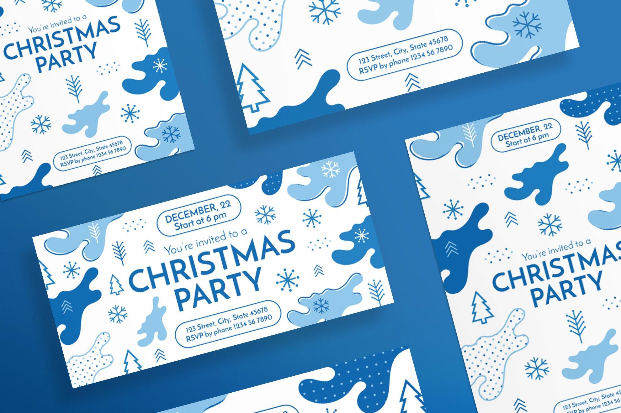 Flyers | Christmas Party ~ Flyer Templates ~ Creative Market