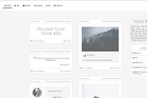 Arctic - Tumblr Theme