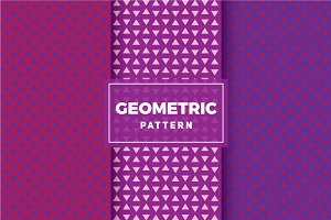 Geometric Vector Patterns #298